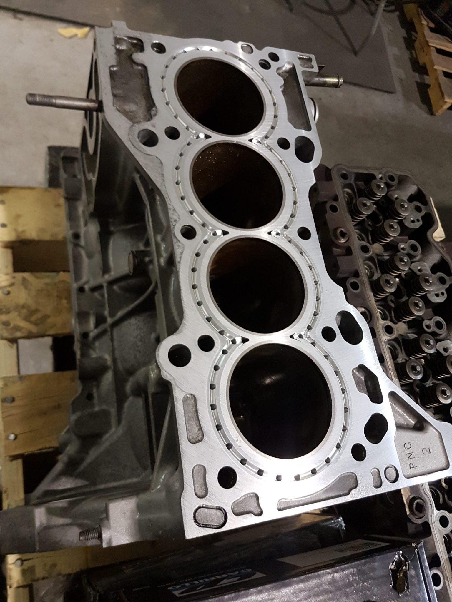 Honda B F H K J Series Block Guard / CNC Cylinder Support – DeeWorks