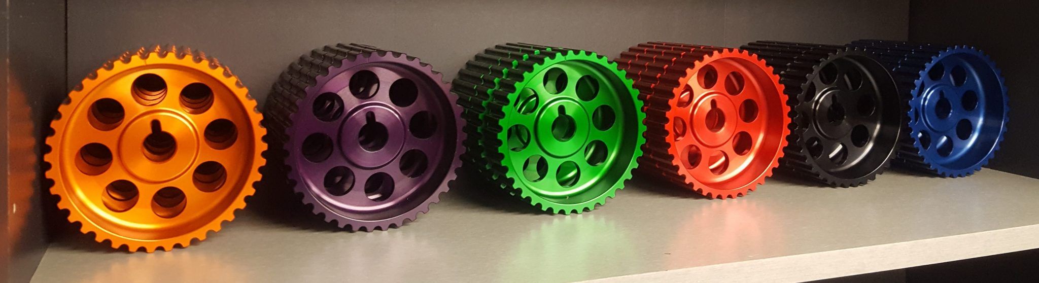 Volvo B230 Anodized Billet Cam Gear by DeeWorks