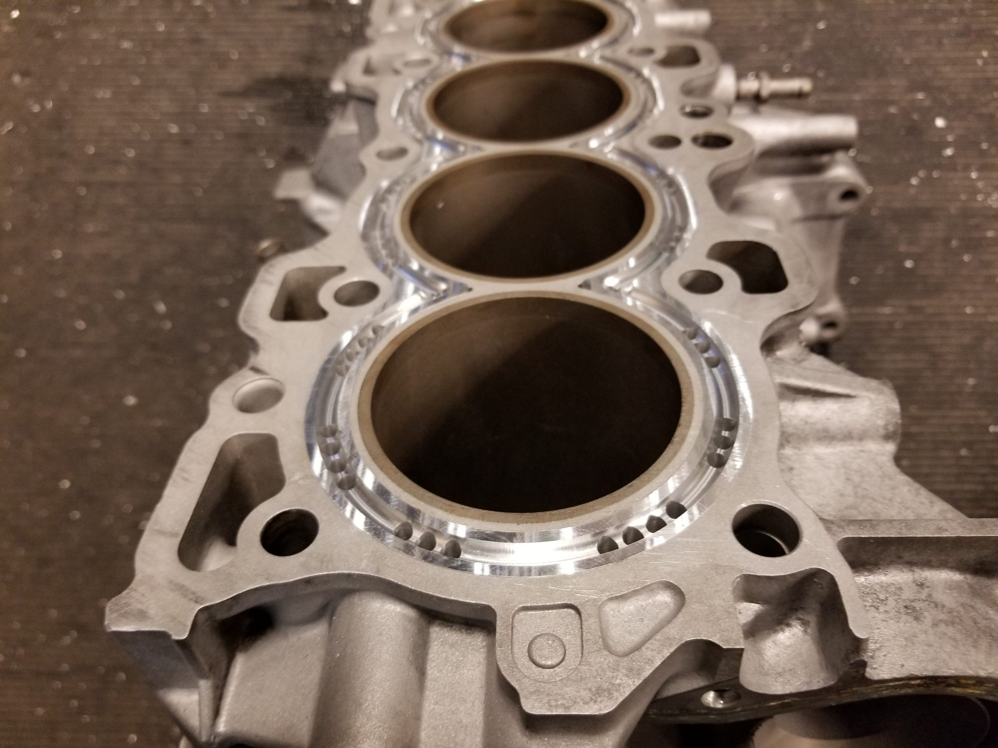 Honda B F H K J Series Block Guard / CNC Cylinder Support