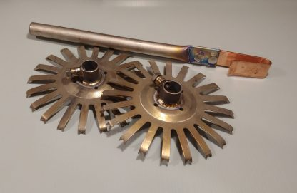 Titanium Aluminum Anodizing Disc Rack and Spline Starting Kit by DeeWorks